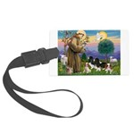 StFrancis-4Cavaliers Large Luggage Tag