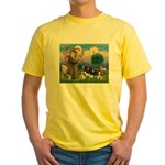StFrancis-4Cavaliers Yellow T-Shirt