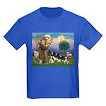 StFrancis-4Cavaliers Kids Dark T-Shirt