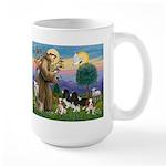 StFrancis-4Cavaliers Large Mug
