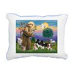 StFrancis-4Cavaliers Rectangular Canvas Pillow