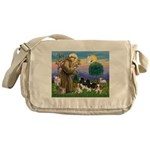 StFrancis-4Cavaliers Messenger Bag