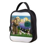StFrancis-4Cavaliers Neoprene Lunch Bag