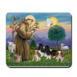 StFrancis-4Cavaliers Mousepad
