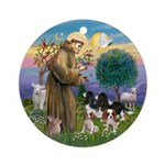 StFrancis-4Cavaliers Ornament (Round)