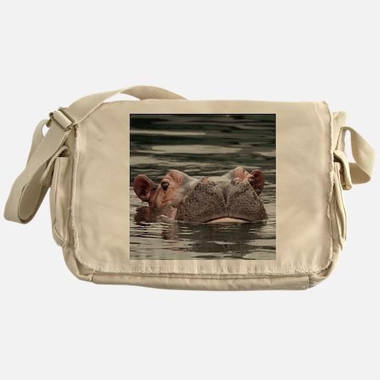 Hippo002 Messenger Bag