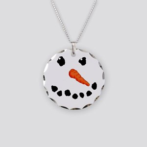 Cute Snowman Necklace