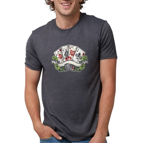 Poker Shirt - Dark Poker Tee Shirt T-Shirt