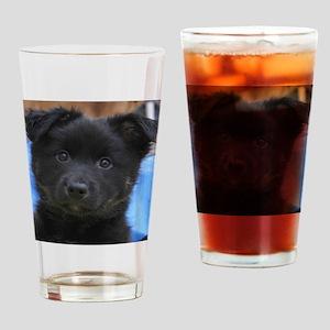 IcelandicSheepdog008 Drinking Glass