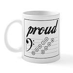 PROUD Music Geek Mug