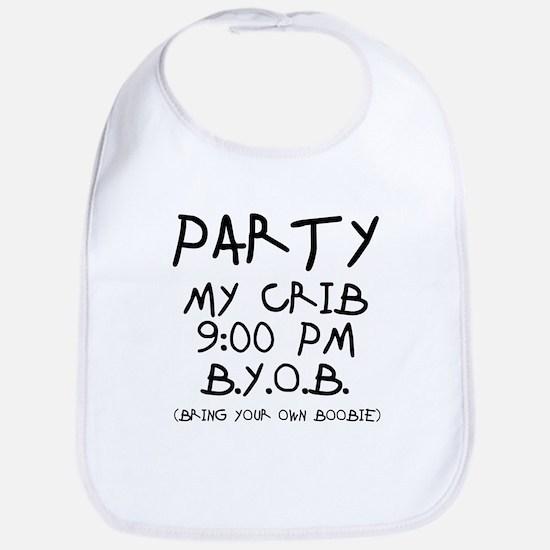Party At My Crib Bib