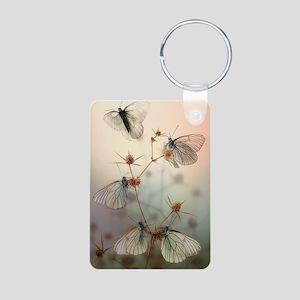 Wings Aluminum Photo Keychain