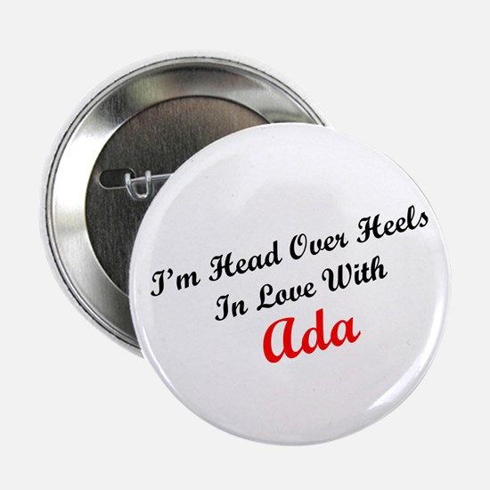 In Love with Ada Button