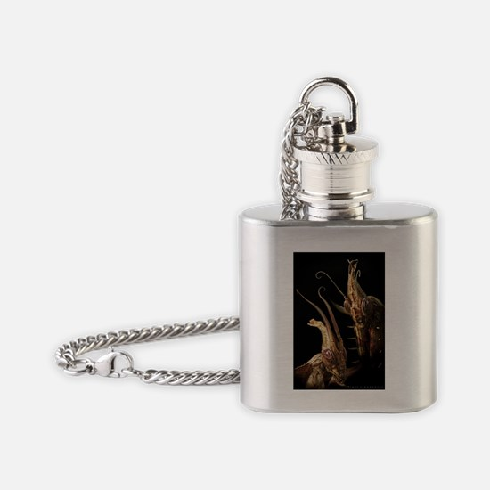 Natural Born Killers Flask Necklace