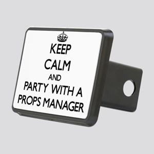 Keep Calm and Party With a Props Manager Hitch Cov