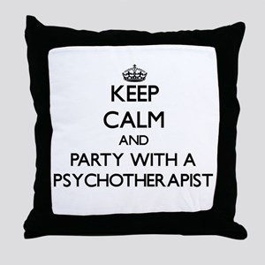 Keep Calm and Party With a Psychotherapist Throw P