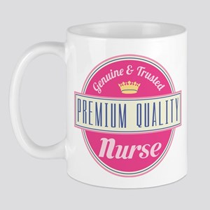 Nurse Vintage Gift Pink Mug