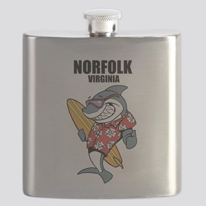 Norfolk, Virginia Flask