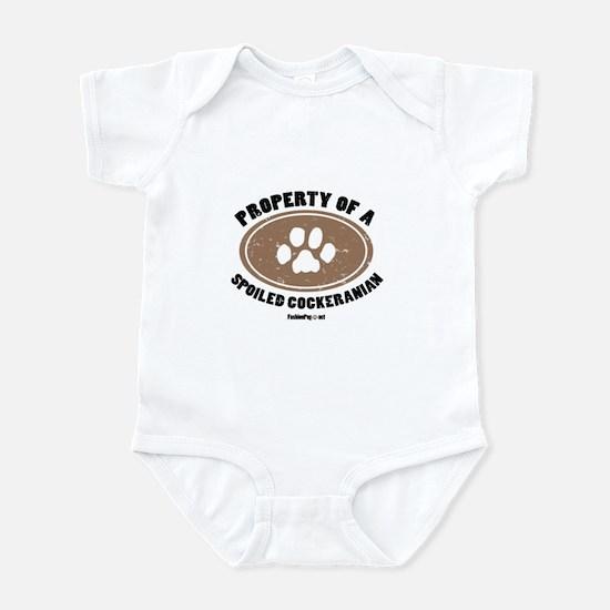 Cockeranian   dog Infant Bodysuit