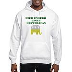 Rich Enough Hooded Sweatshirt