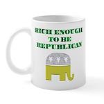 Rich Enough Mug
