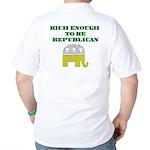Rich Enough Golf Shirt