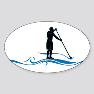 Stand Up Paddle-Waves Sticker