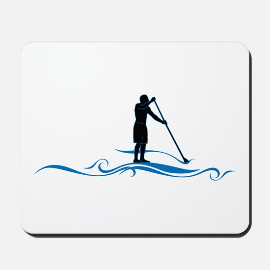 Stand Up Paddle-Waves Mousepad