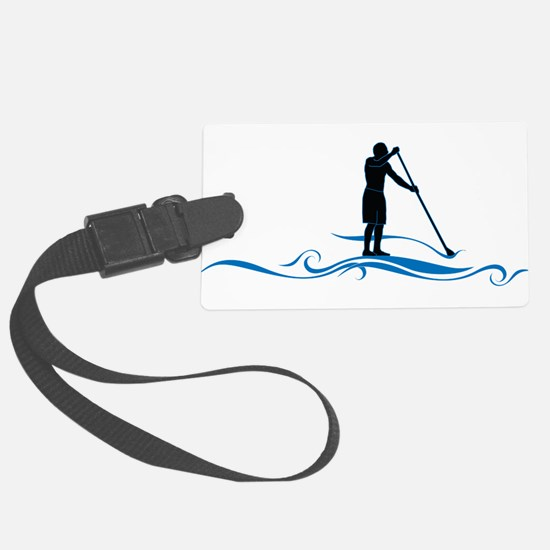 Stand Up Paddle-Waves Luggage Tag