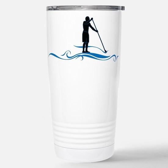 Stand Up Paddle-Waves Travel Mug