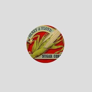 Vintage Label Art, Sugar Corn Mini Button