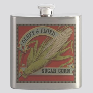 Vintage Label Art, Sugar Corn Flask