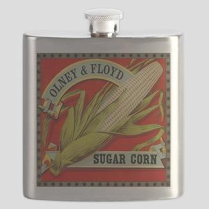 Vintage Label Art, Sugar Corn Flask
