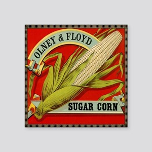 "Vintage Label Art, Sugar Co Square Sticker 3"" x 3"""