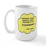 Performer's Checklist Large Mug