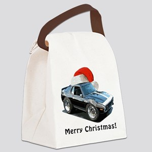 BabyAmericanMuscleCar_74Jav_Xmas Canvas Lunch Bag