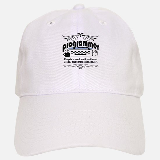3-programmer-darks.png Baseball Baseball Cap