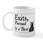 Exits, Pursued by a Bear Mug