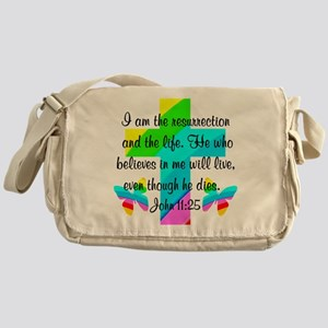JOHN 11:25 Messenger Bag