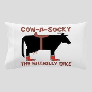 Cow A Socky Hillbilly Bike Pillow Case