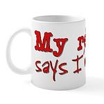 My resume says I'm a star Mug