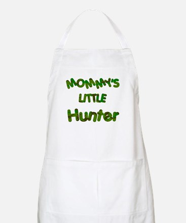 Mommy's little Hunter BBQ Apron