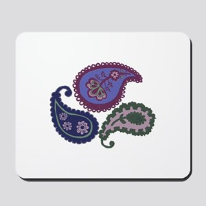 Textured Paisley Mousepad