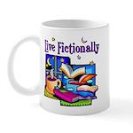 Live Fictionally Mug