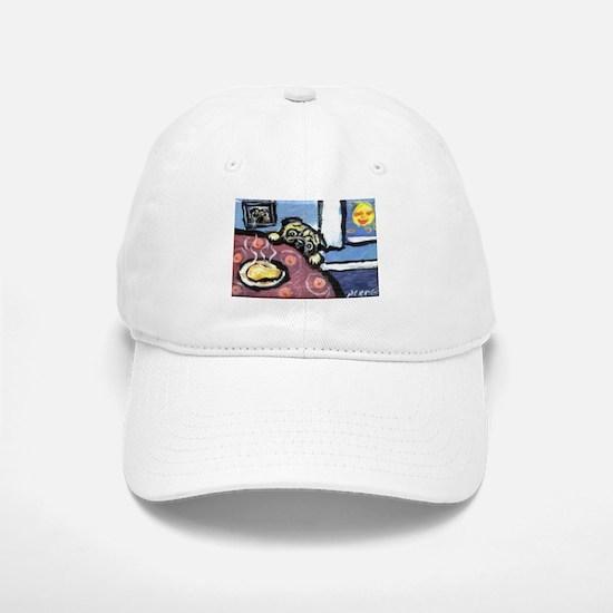 PUG chicken soup Baseball Baseball Cap