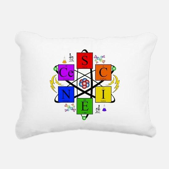 S.C.I.E.N.C.E. !! Rectangular Canvas Pillow