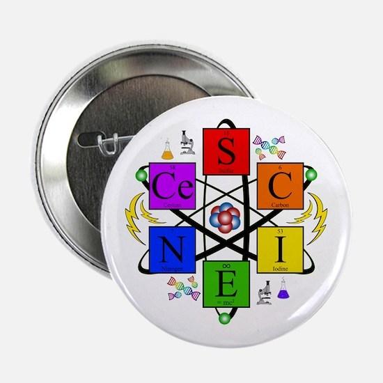 """S.C.I.E.N.C.E. !! 2.25"""" Button"""