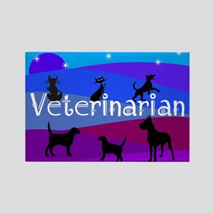 Veterinarian Blanket 1 Magnets