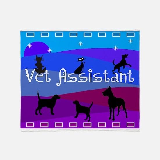 Vet Assistant 1 Throw Blanket