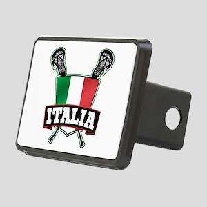 Italia Italy Lacrosse Logo Hitch Cover